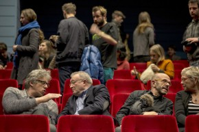 Bart De Baere, Jan Debbaut, Harold Berg, Lieve De Deyne at Cinema Zuid