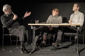 Flor Bex, Cherica Convents and Stefaan Vervoort première Gordon Matta-Clark Cinema Zuid